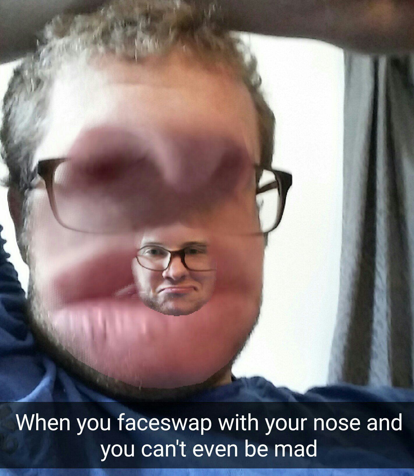 Title thinks snapchat is over-rated - meme