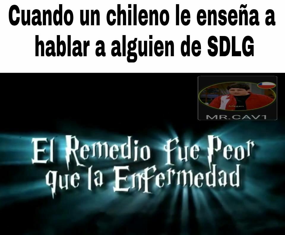 soy chileno!!! - meme