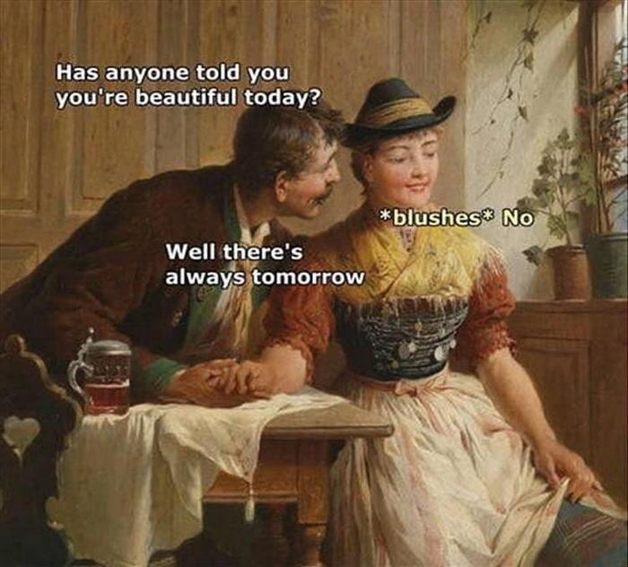 always tomorrow - meme