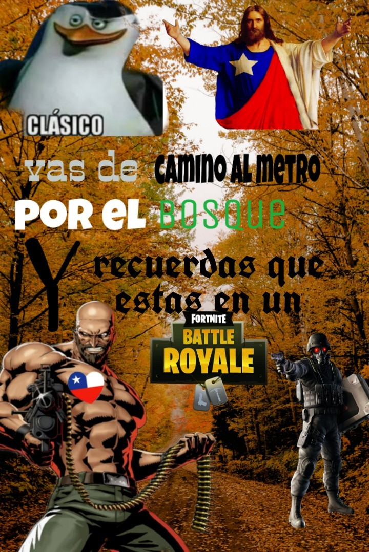 Chile battle royale •_•XD - meme