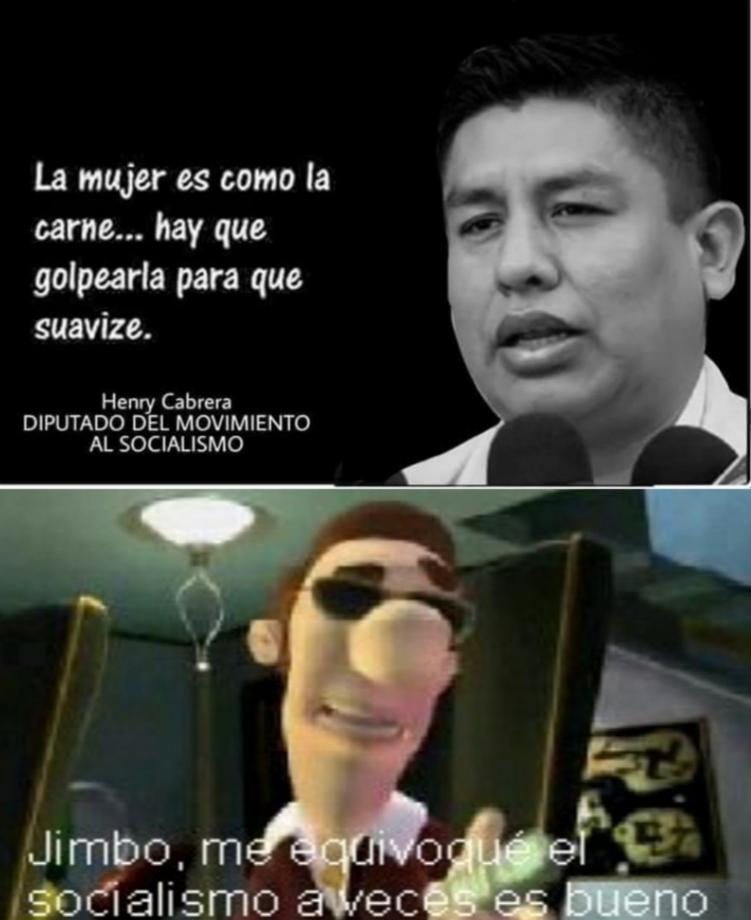 Politicos Bolivianos - meme