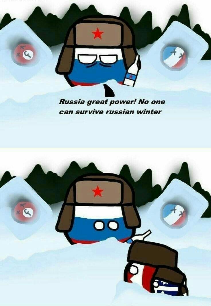 Canada vs Rusia, pelea del siglo - meme