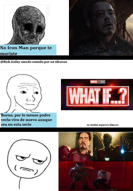 Enserio Pobre Stark, Ni Muerto Lo Dejan Descansar En Paz - meme