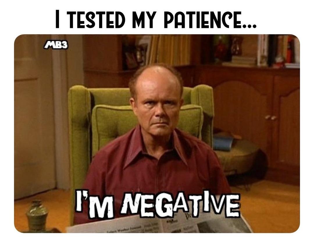 Negative - meme