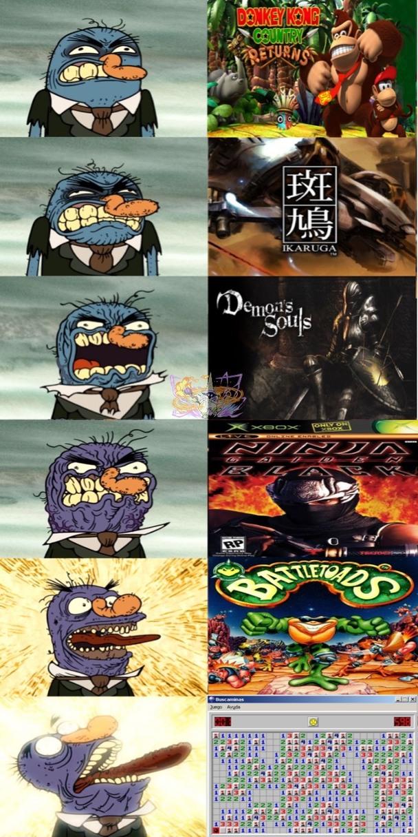 El buscaminas es la vaina más arrecha. :^) - meme