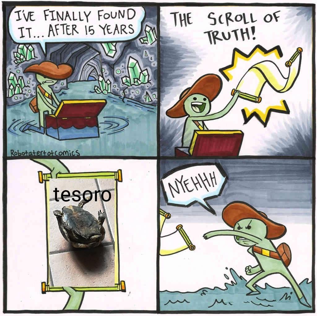 Tesoro - meme