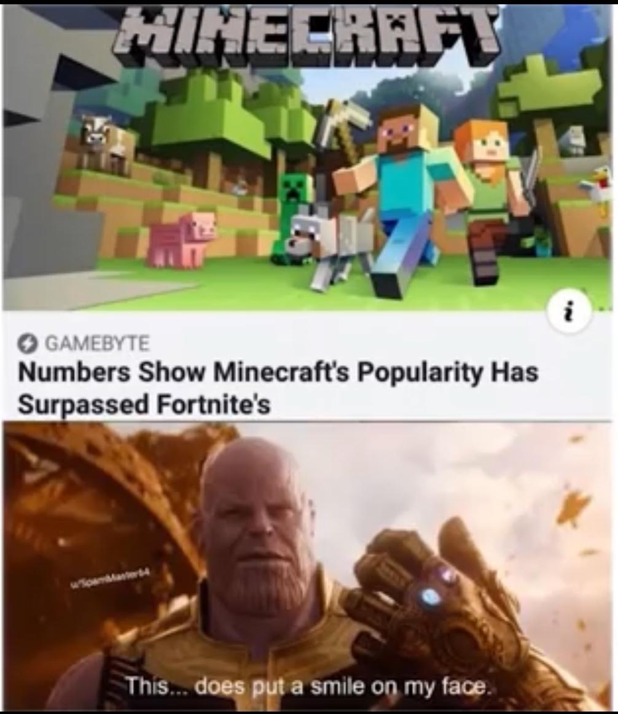 Minecraft - meme