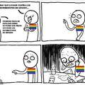 este meme va dirigido al 60% de los trans... porque el otro 40% se han suicidado