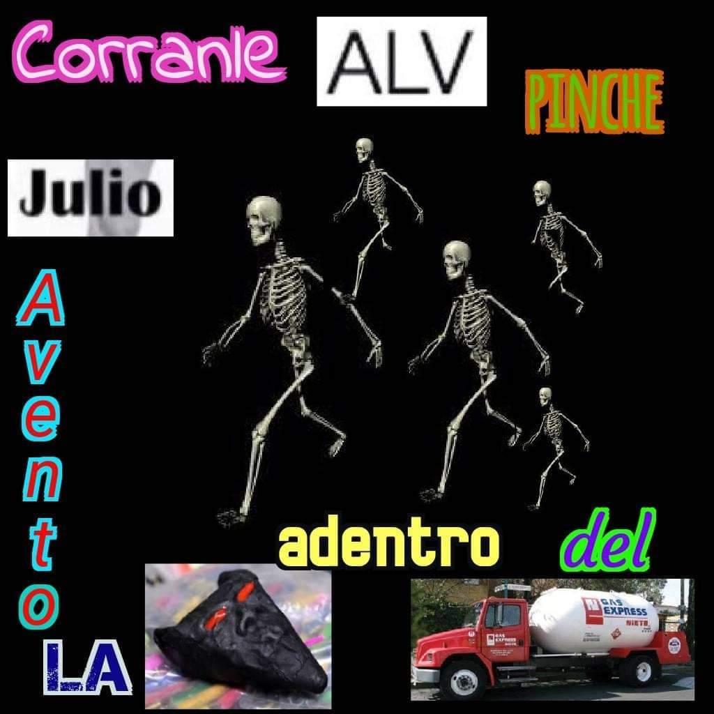 Julio pendejo - meme