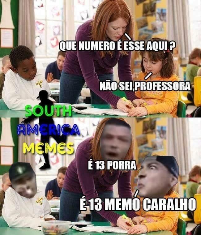 13 caraio - meme