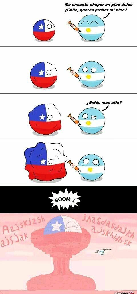 Cuando chile y argentina se juntan - meme