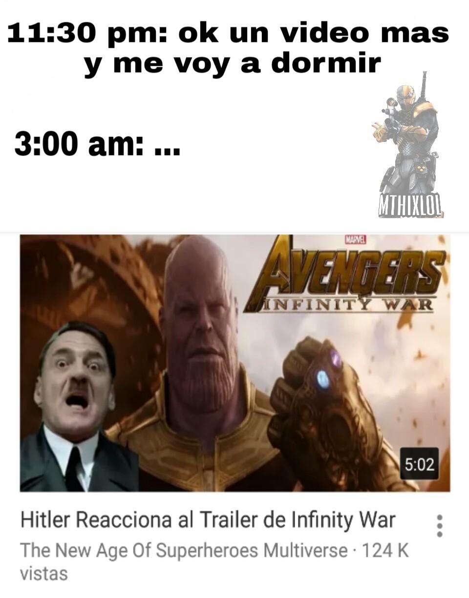 Falta poco para infinity war! :D - meme