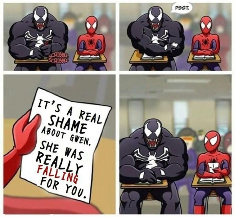 Another step step in our revenge against Spiderman - meme