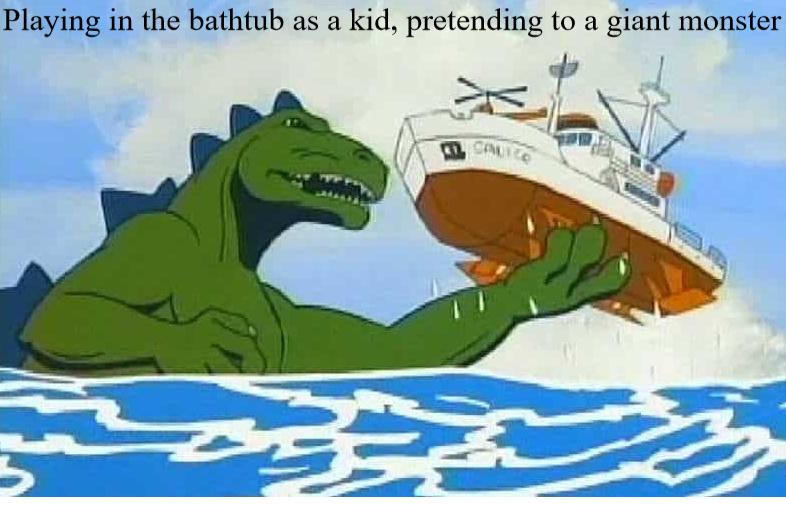 I'm Godzilla - meme