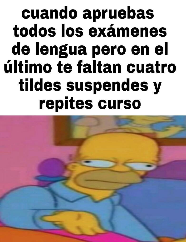 Bachillerato - meme