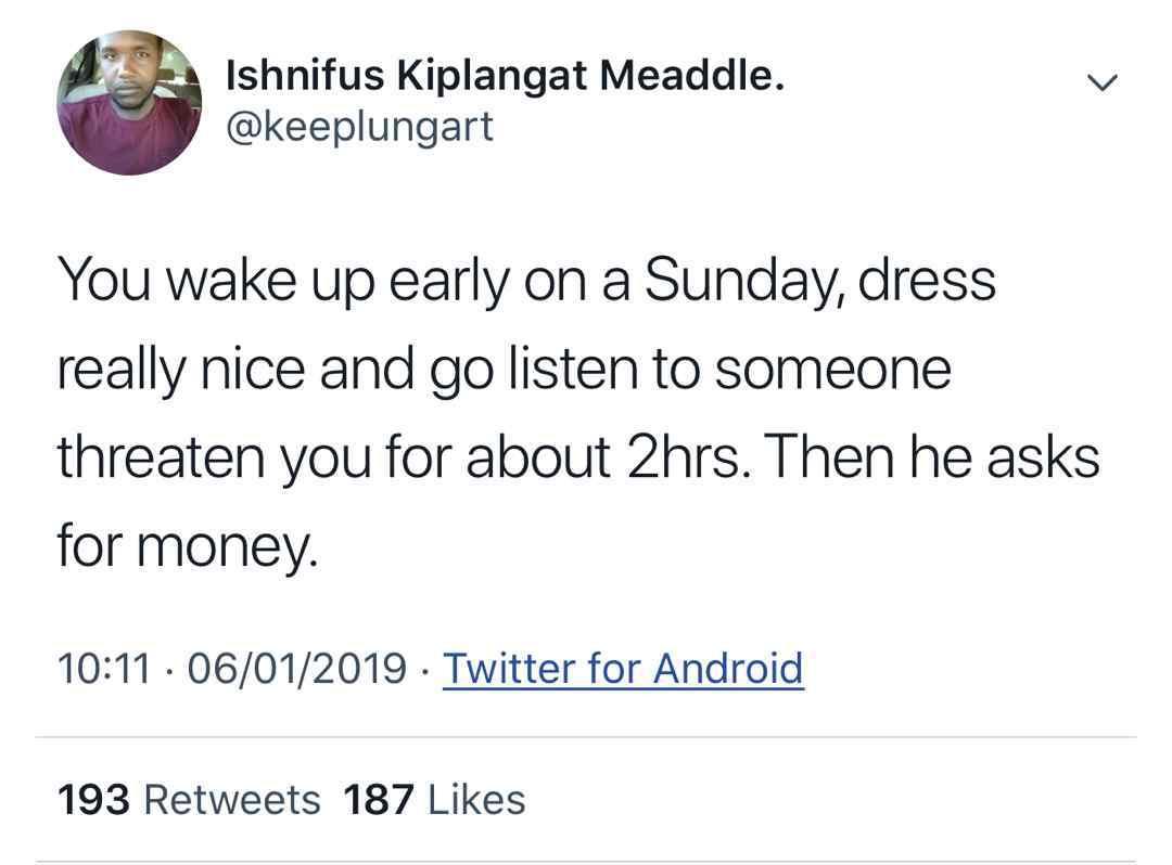Sunday routine - meme