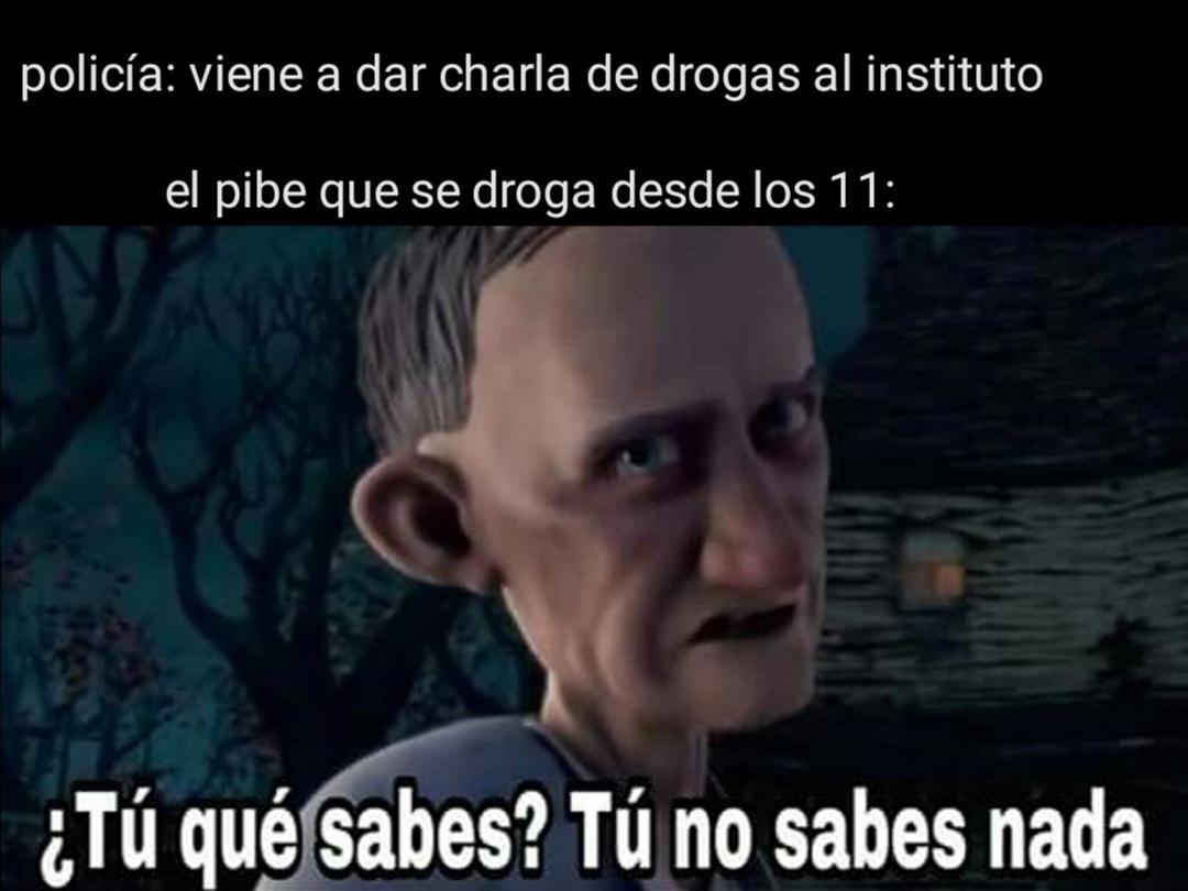 En todas las clases hay uno - meme