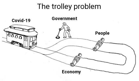 Enlightened trolley - meme