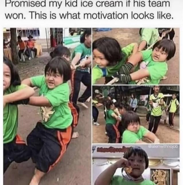 The determination - meme