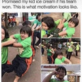 The determination