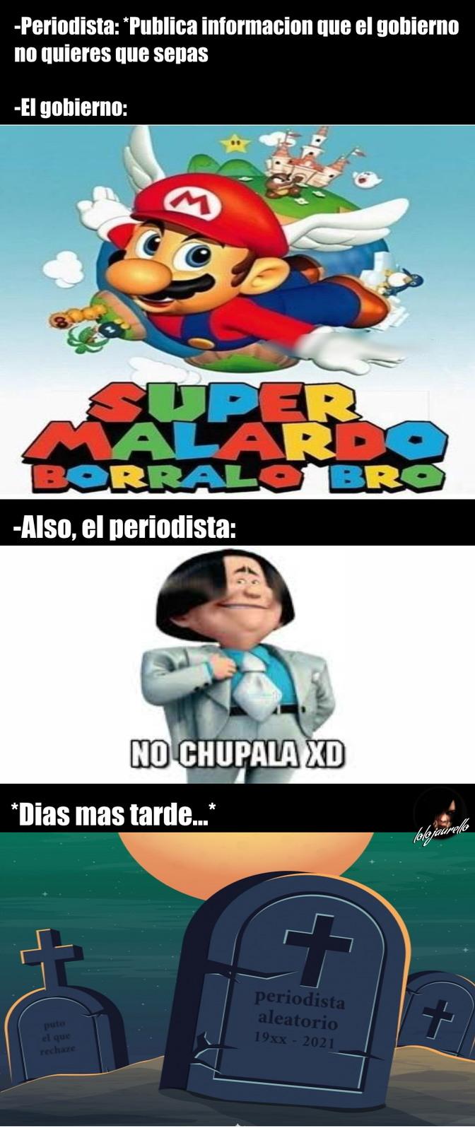 Super Malardo... No, chupala xD - meme