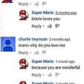 But Mario doesn't love me :'(