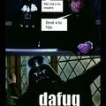 Ese skywalker es un loquillo