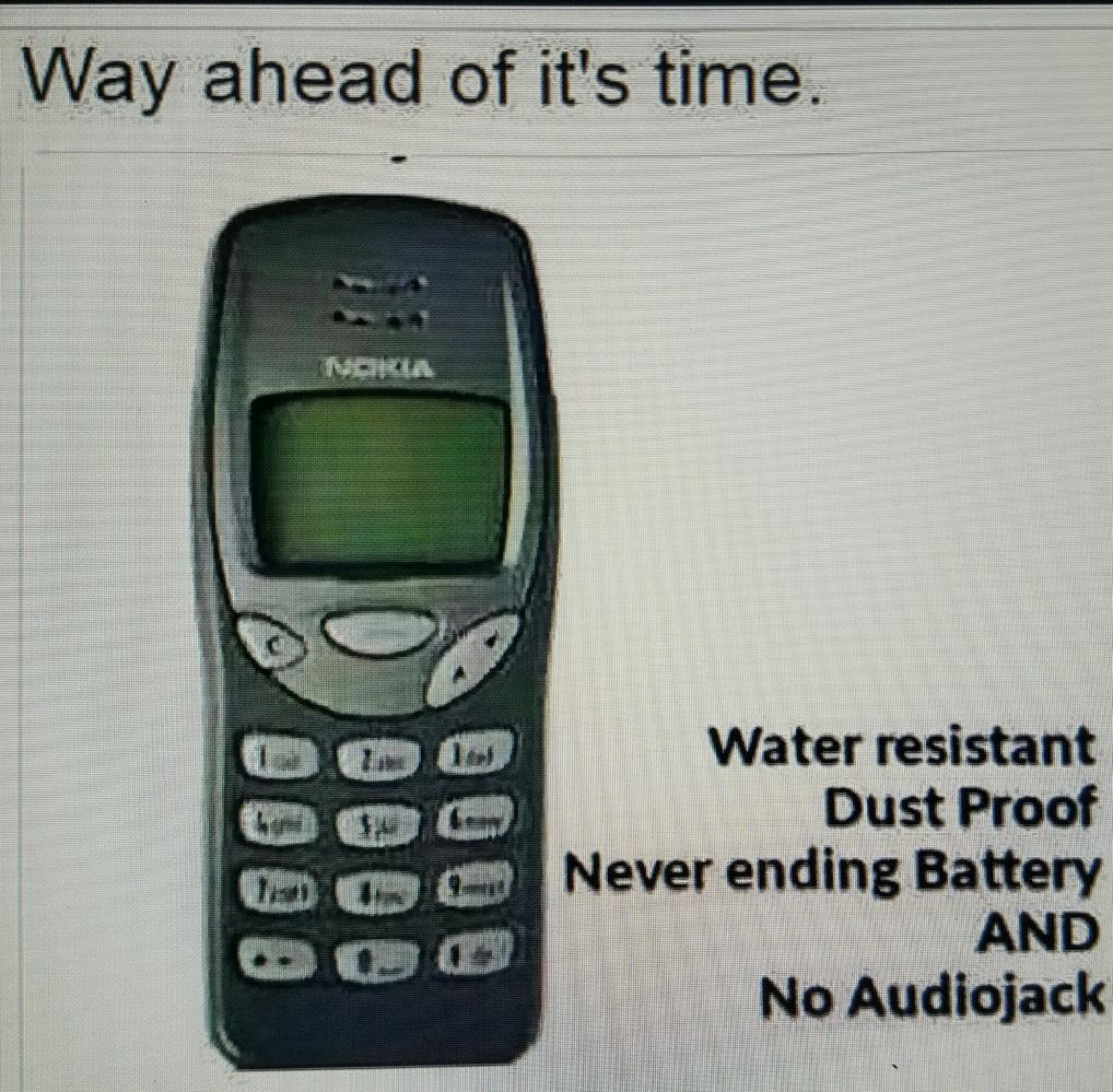Fuck iphone. Nokia way out of its's time. - meme