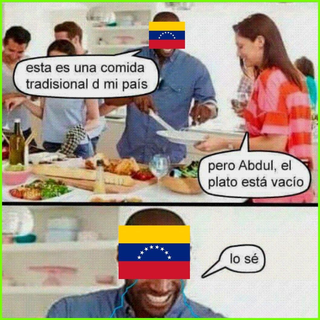 Cada venezuela de siempre - meme