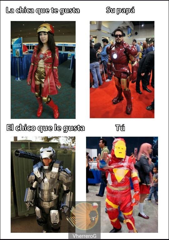 Más cosplays - meme