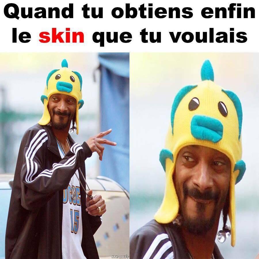 Skin - meme