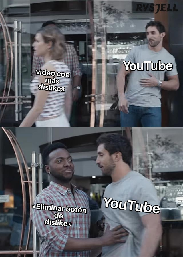 YouTube quiere eliminarlo | @RYSJELL | - meme
