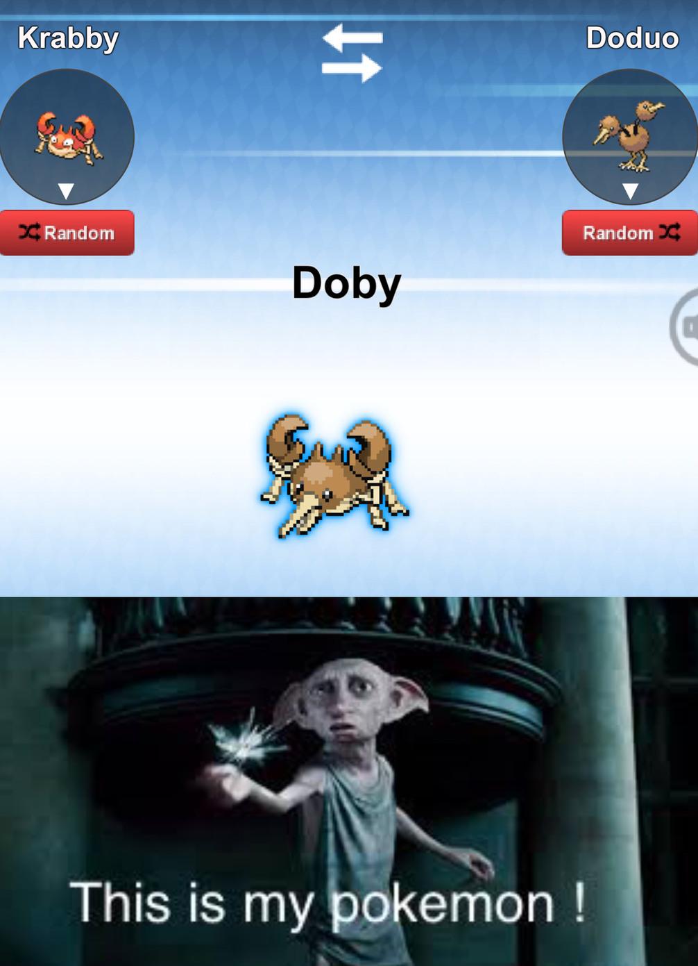Krabby+Doduo= - meme