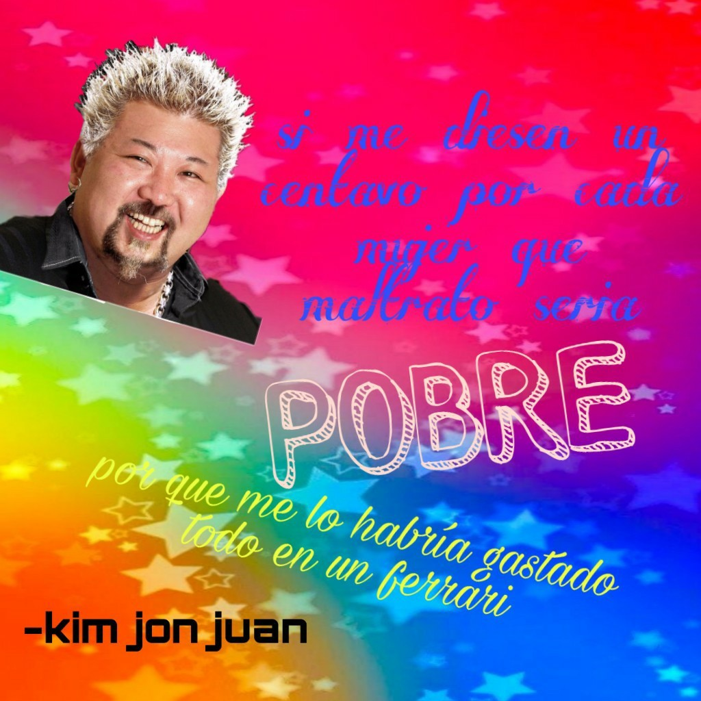 R.I.P. kim jon juan - meme