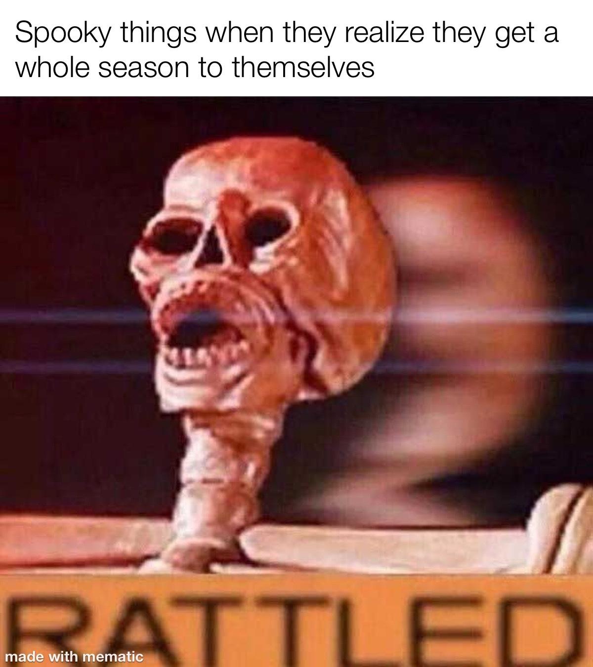 rattled - meme