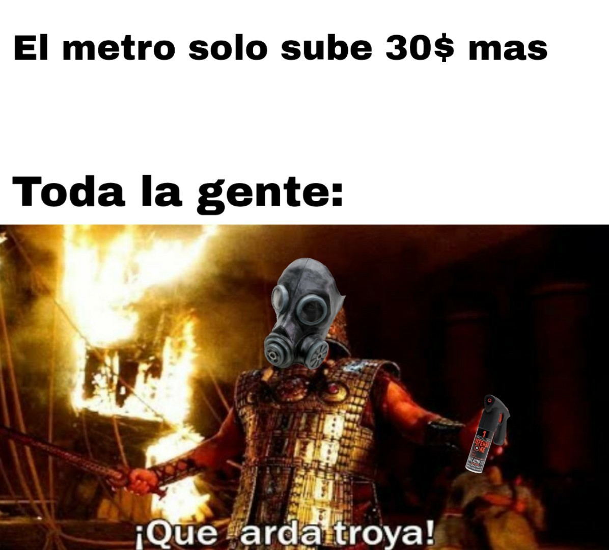 Chile be like - meme