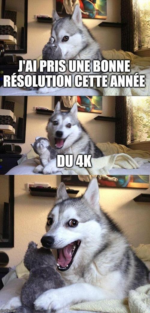 Histoire de résolution - meme