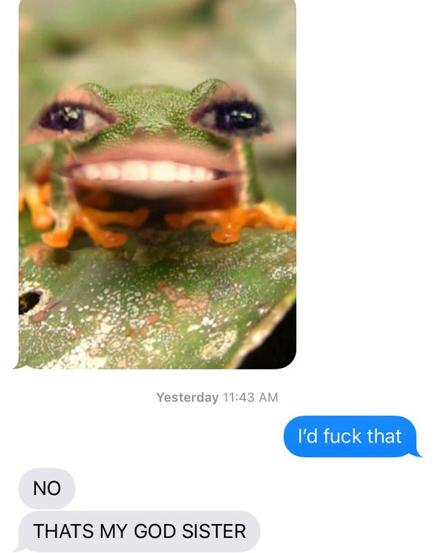 Actual conversation I had - meme
