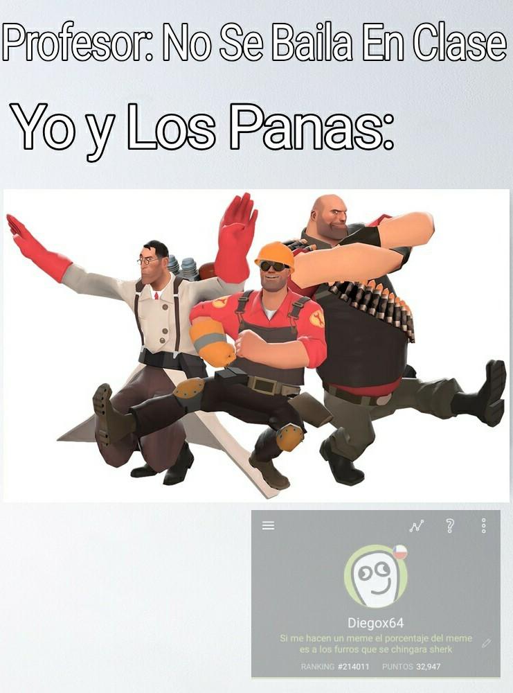 Bailando De Pana - meme