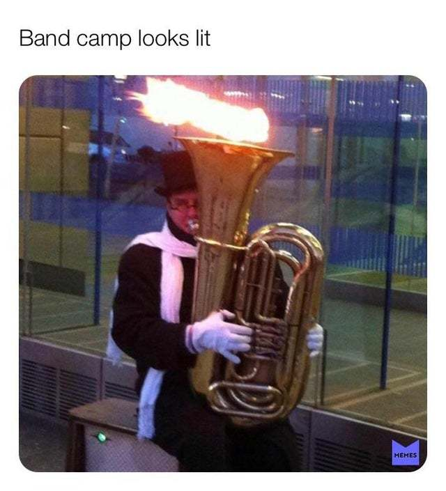 band - meme