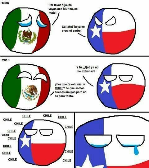 Texas es de México - meme