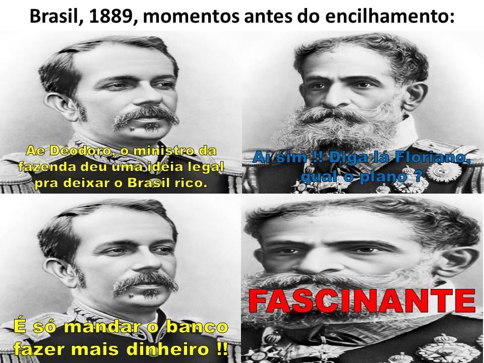 Se o Brasil ainda fosse império, isso nunca teria acontecido... - meme