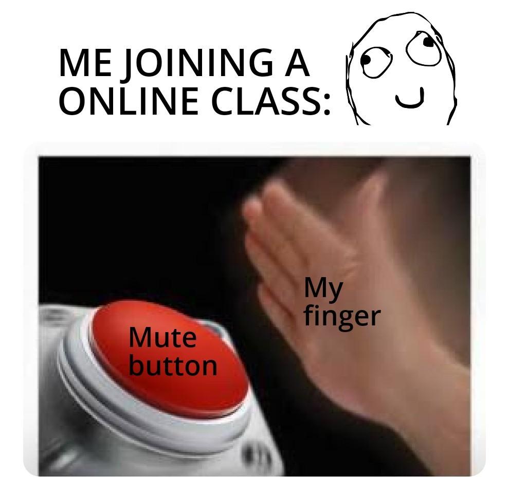 online class - meme