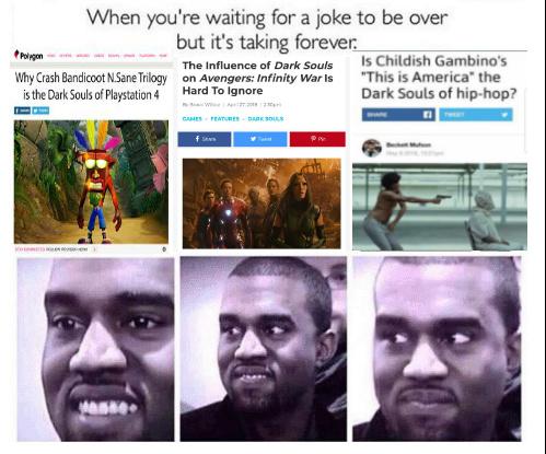 just like dark souls - meme