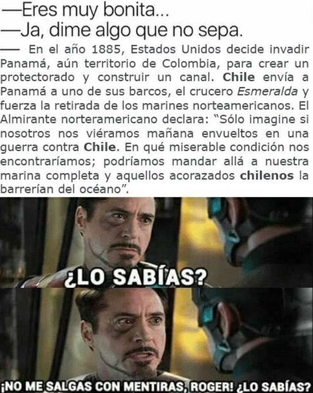 Estos chilenos sjdjsjdjdj la wea weon culiao - meme
