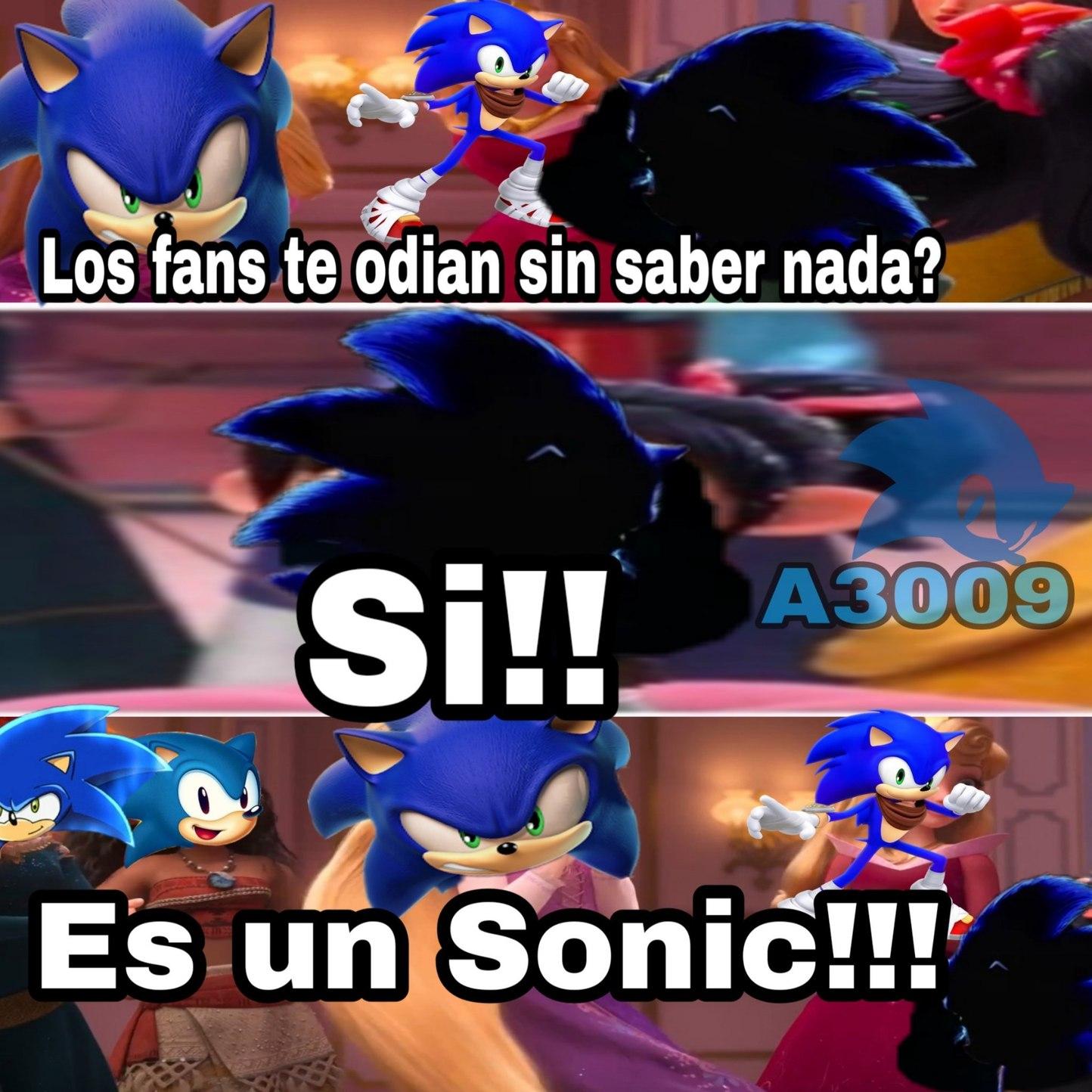 Los sonics - meme