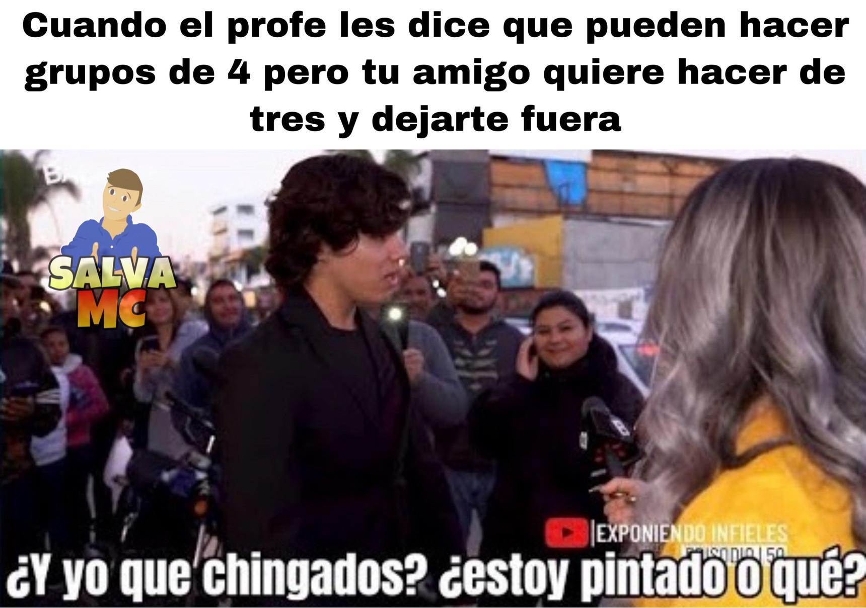 Chingados - meme