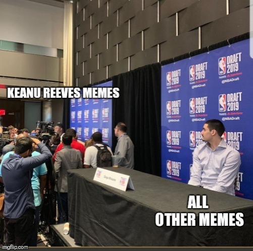This NBA Draft pic needed to be memed