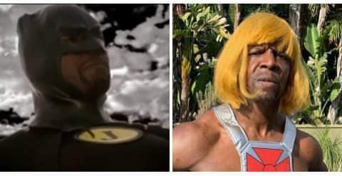 E o Julius que além de ter dois empregos nas horas vagas é o Batman e o He-man. - meme