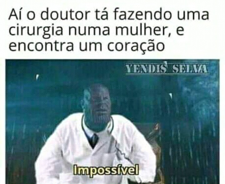 Impossível - meme